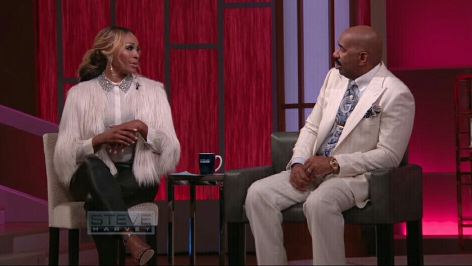Image result for Cynthia Bailey on steve harvey